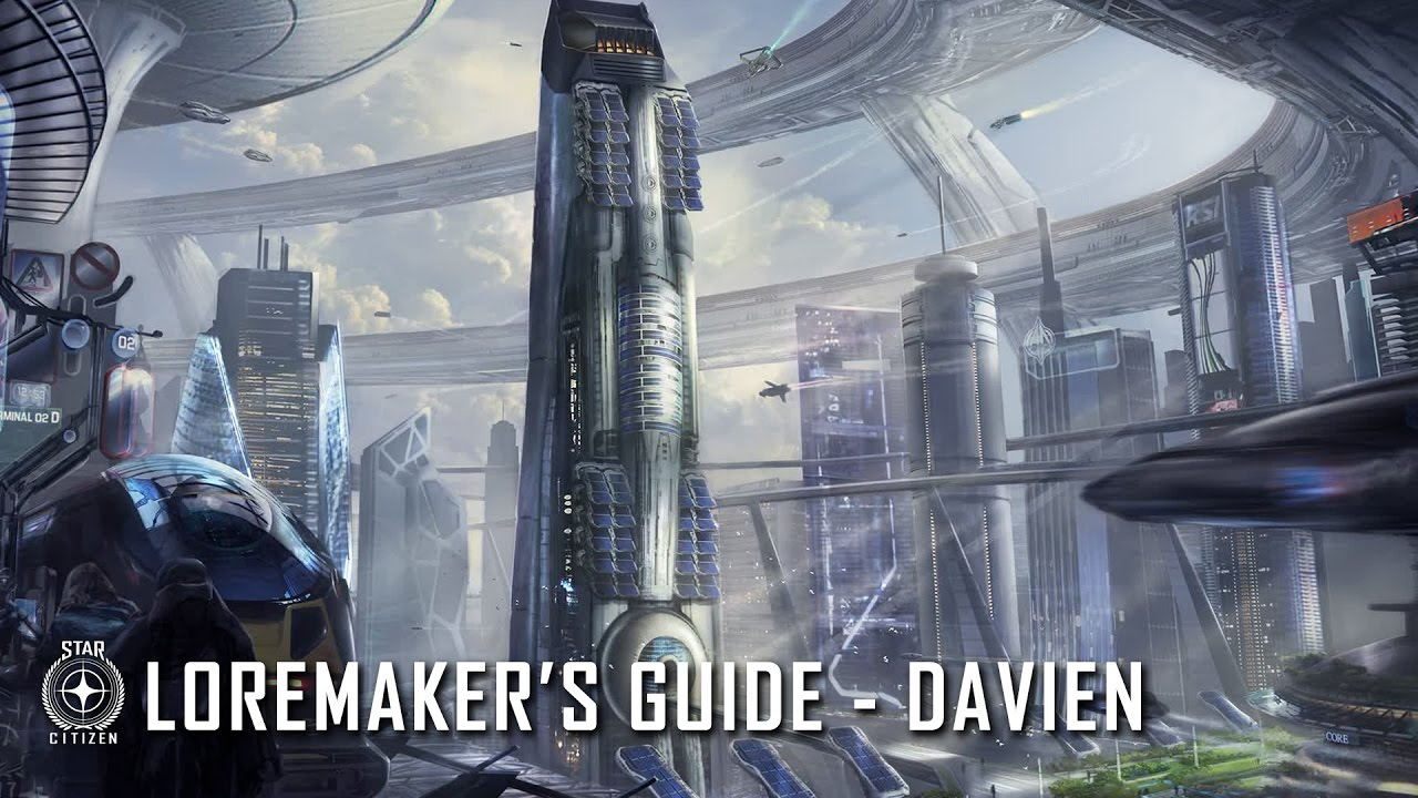 Star Citizen: Loremaker's Guide to the Galaxy - Davien System