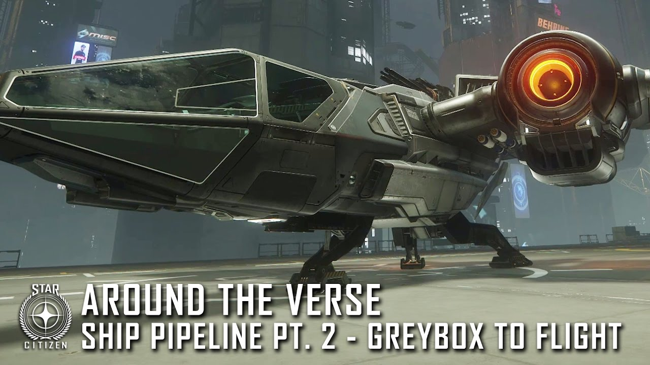 Star Citizen: Around the Verse - Ship Pipeline Pt. 2: Greybox to Flight Ready