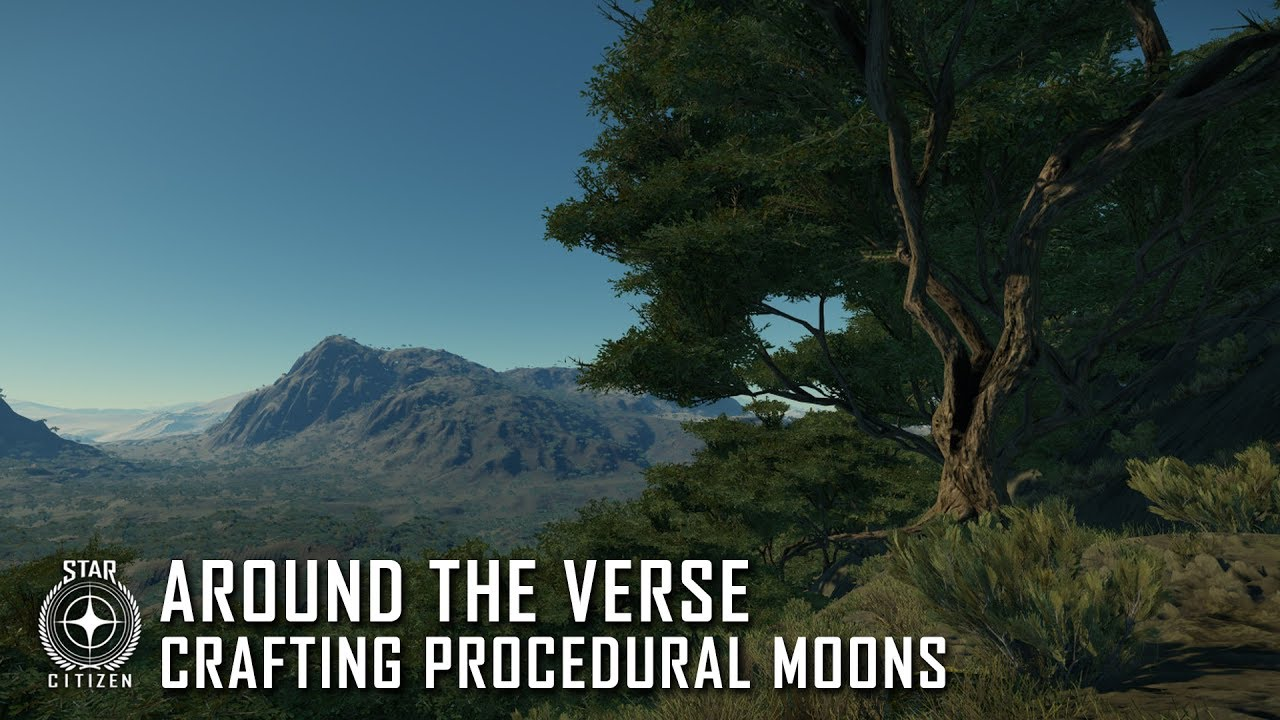 Star Citizen: Around the Verse - Crafting Procedural Moons