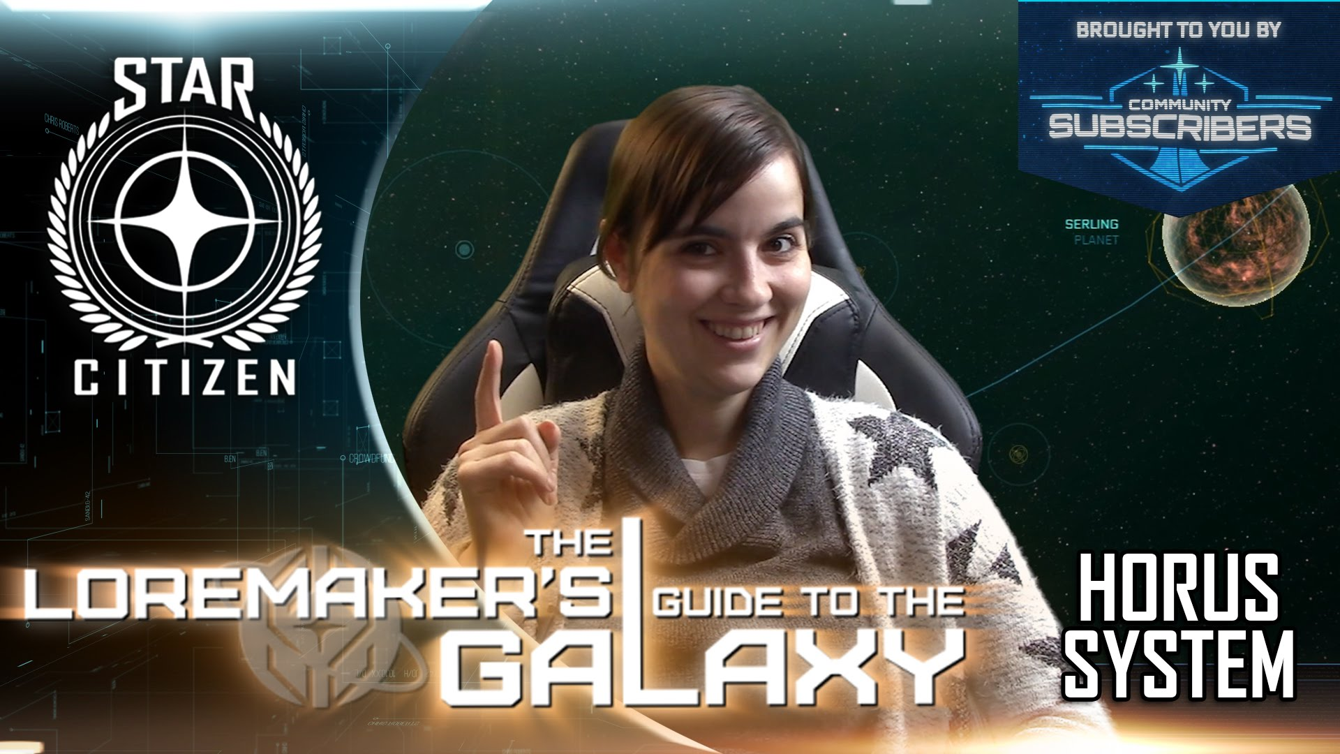 Star Citizen: Loremaker's Guide to the Galaxy - Horus System