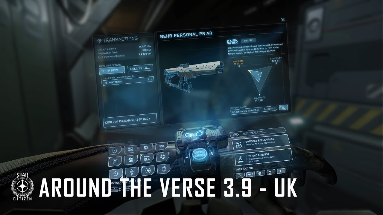 Star Citizen: Around the Verse 3.9 - UK