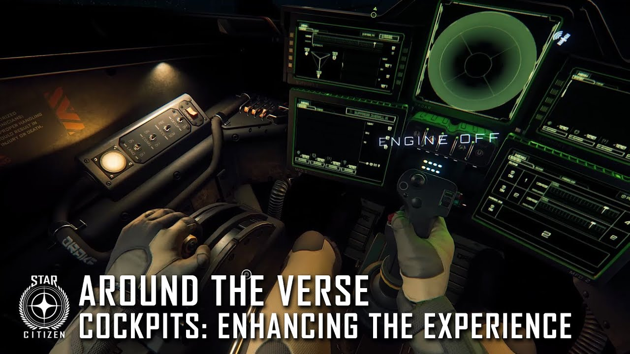 Star Citizen: Around the Verse - Cockpits: Enhancing the Experience