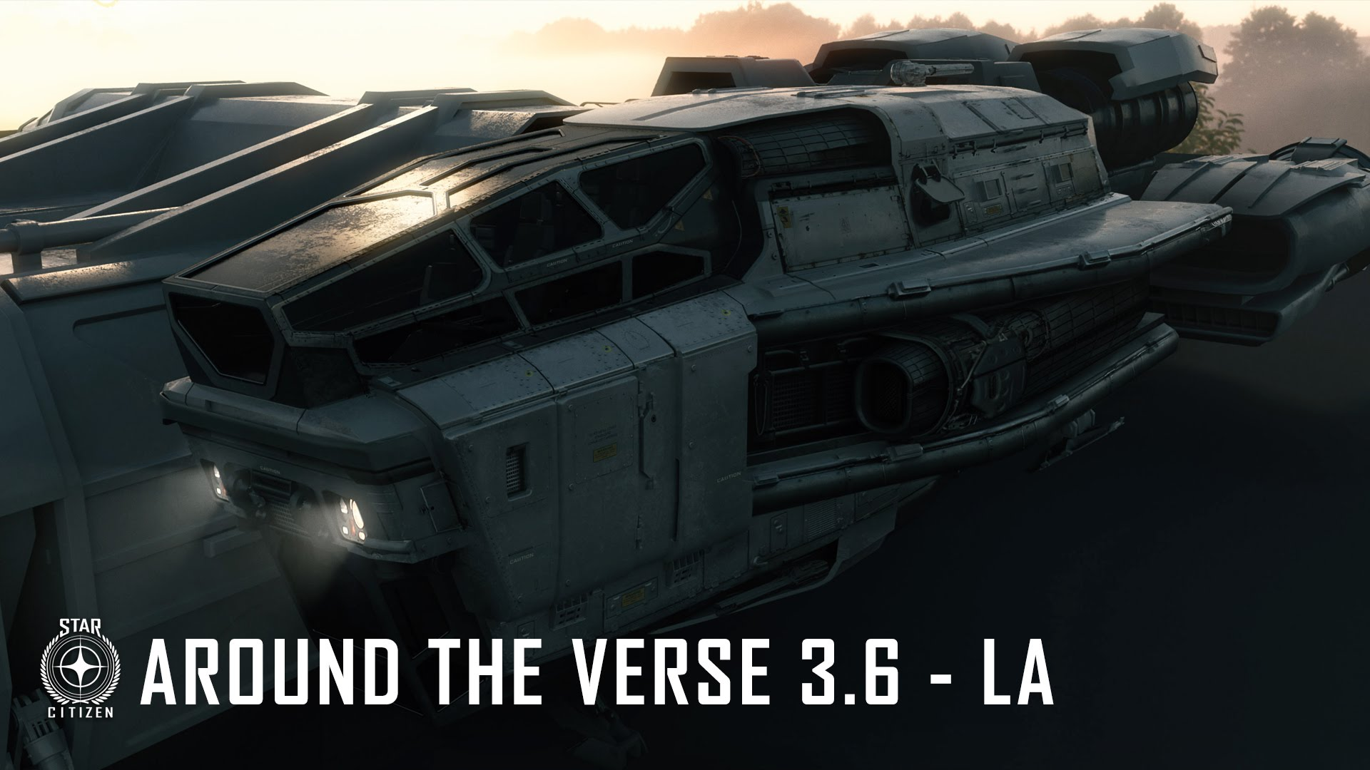 Star Citizen: Around The Verse 3.6 – LA
