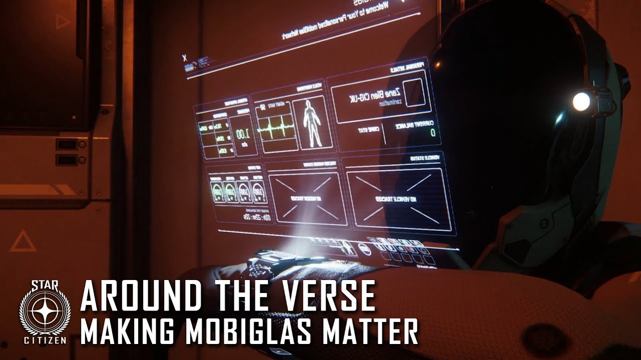Star Citizen: Around the Verse - Making mobiGlas Matter
