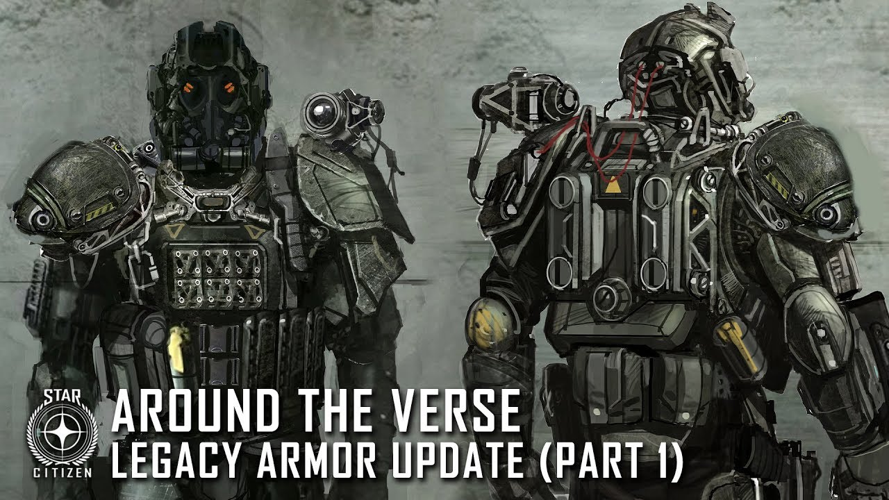 Star Citizen: Around the Verse - Legacy Armor Update (Part 1)