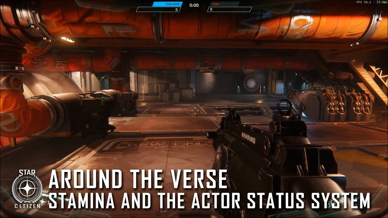 Star Citizen: Around the Verse - Stamina and the Actor Status System