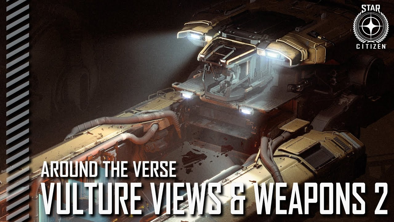 Star Citizen: Around the Verse - Vulture Views and Weapons 2