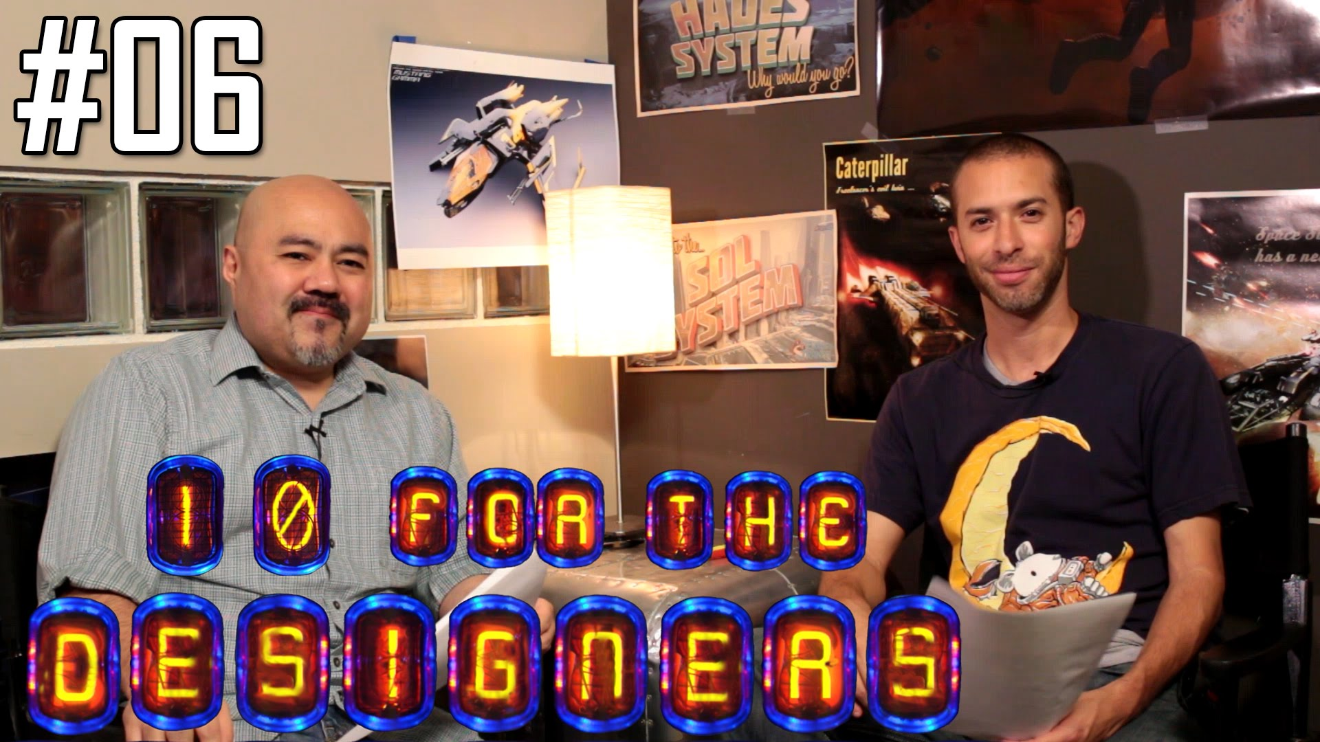 10 for the Designers: Episode 06