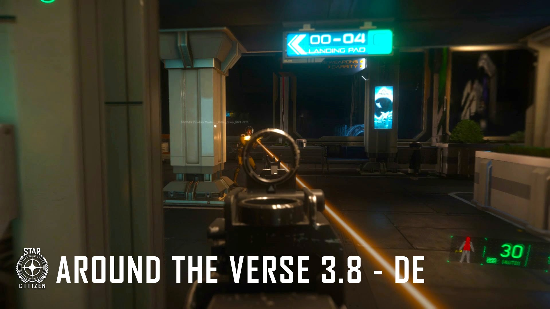 Star Citizen: Around The Verse 3.8 – DE